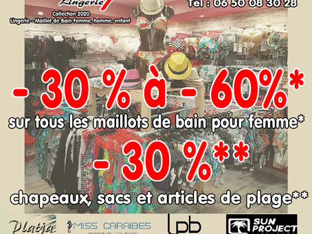 Chez Pin Up Lingerie - 30% à 60%