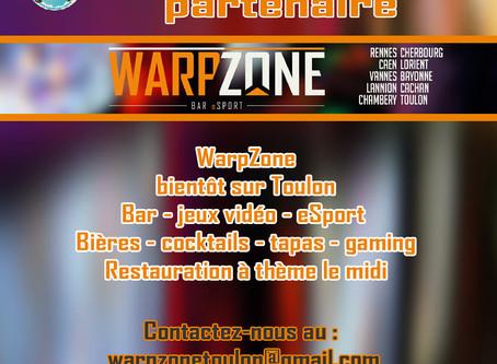 Bientôt notre partenaire WarpZone à Toulon