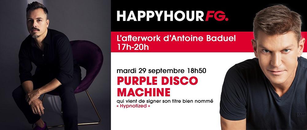 Purple Disco Machine sur Radio FG