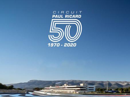Bon Anniversaire au Circuit Paul Ricard pour les 50 Ans
