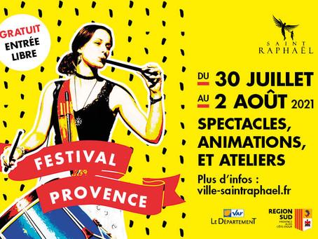 Les traditions à l'honneur avec le Festival Provence du 30 juillet au 2 août 2021