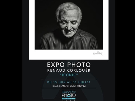"""Expo Photo Renaud Corlouër """"ICONIC"""" à St Tropez"""