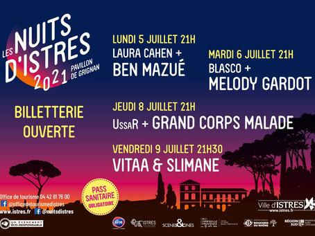 Les Nuits d'Istres 2021 - Pavillon de Grignan
