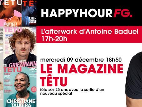 Le magazine TETU fête ses 25 Ans sur Radio FG FeelGood