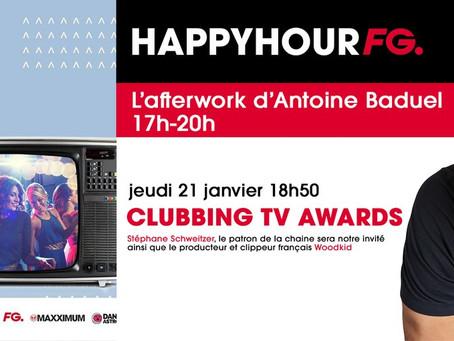 LES CLUBBING TV AWARDS SUR FG Stéphane Schweitzer