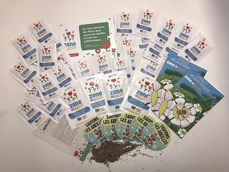 Si vous voulez avoir de nombreuses fleurs dans votre jardin et sauver nos abeilles