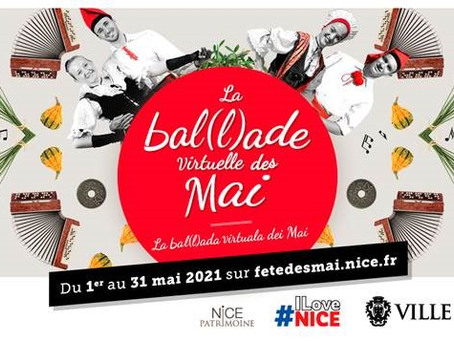 Bal(l)ade virtuelle des Mai à Nice