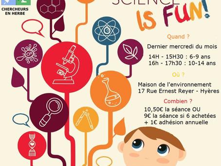 Le club science de Hyères ouvre ses portes à la Maison de l'Environnement