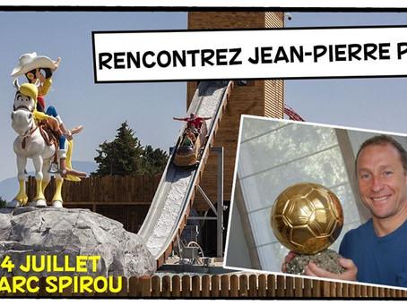 Parc Spirou et Jean Pierre Papin