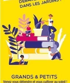 La Bib-Mobile débarque cet été dans les parcs et jardins de la Ville de Nice !