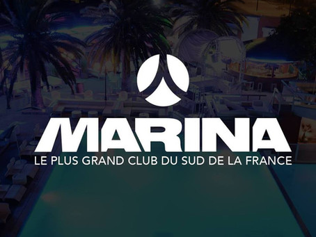 Marina plus grand club du sud de la France