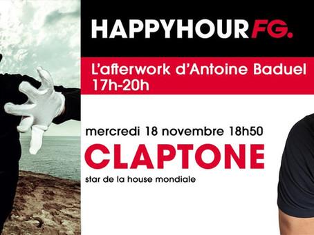 Le DJ producteur berlinois Claptone  sera ce soir l'invité d'Antoine Baduel