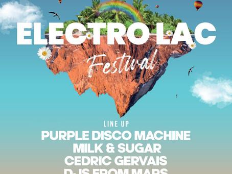 l'Electro'Lac Festival - Le Soler (66)