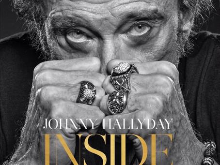 INSIDE avec photographies de RENAUD CORLOUËR sur Johnny Hallyday..