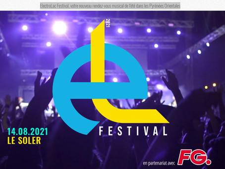 ElectroLac Festival, votre nouveau rendez-vous musical de l'été dans les Pyrénées Orientales.