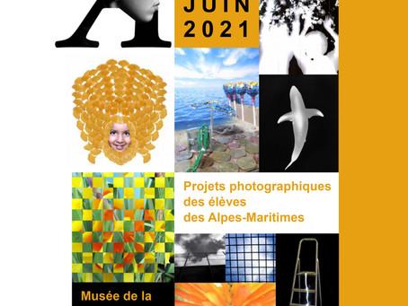 EXPOSITION : Du 22 au 27 juin 2021 - Projets photographiques des élèves des Alpes-Maritimes