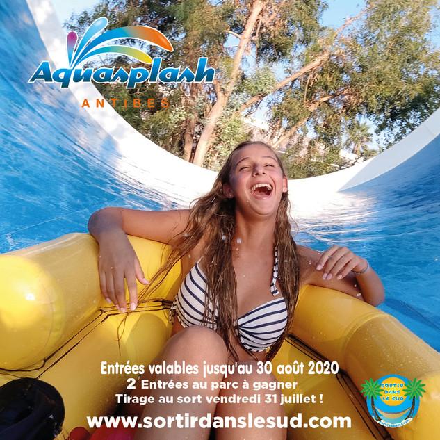 Jeux Juillet  2020  Aquasplash et SDS 10