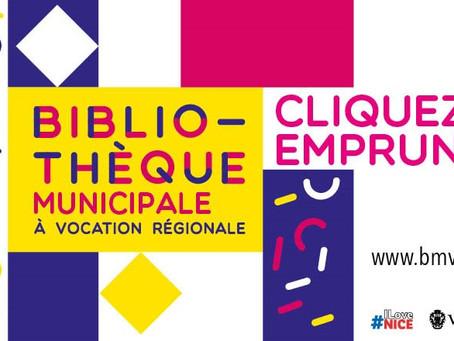 La Ville de Nice lance le service « Cliquez et empruntez » dans ses bibliothèques