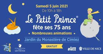 75ème anniversaire de l'édition française du livre Le Petit Prince de Saint-Exupéry