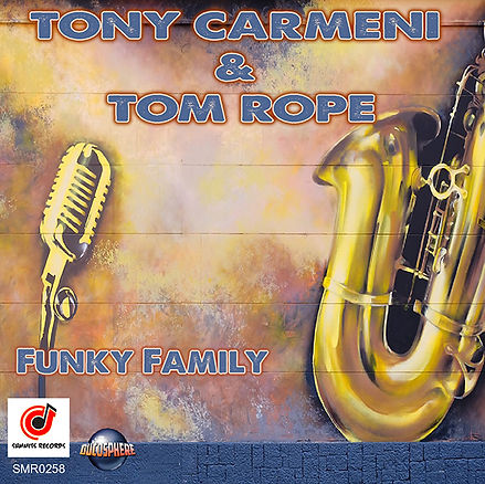 Cover Tony Carmeni Ft Tom Rope - Funky F