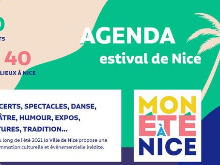 Agenda de l'été à Nice