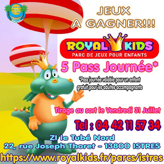 Jeux Juillet 20 Royal Kids Istres insta