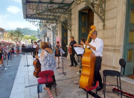 Le coup de canon musical de l'Opéra Nice Côte d'Azur Du jeudi au dimanche jusqu'au 31 juillet 2021