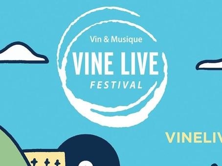 Vinelive Festival 2021-Le Samedi 3 juillet 17h00-Arènes de Palavas.
