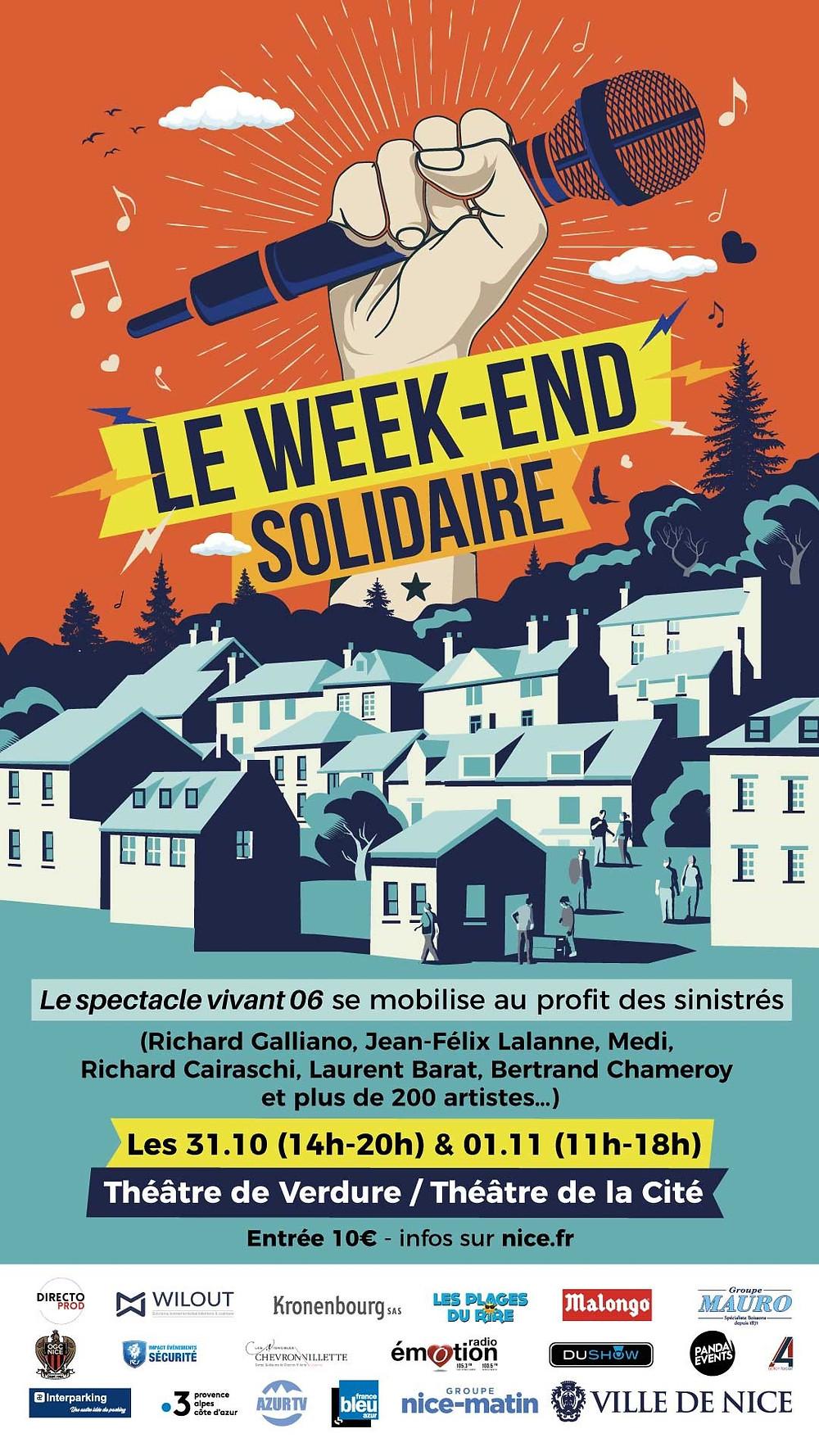 Tempête Alex Le week-end solidaire