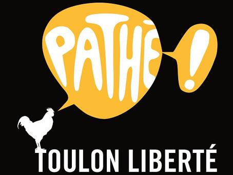 Pathé Toulon Liberté : Séances du 28 Octobre au 3 Novembre 2020