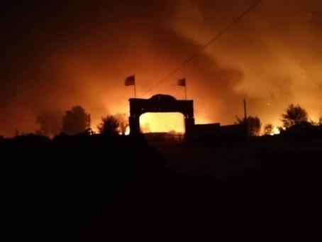 Nous avons besoin de vous tous...Le Ranch la Mene à Grimaud a brûlé cette nuit