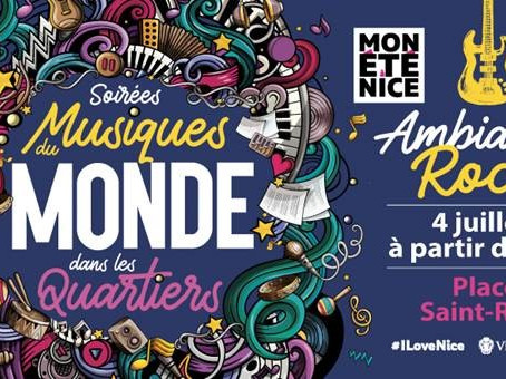 Soirées Musiques du Monde dans les quartiers à Nice