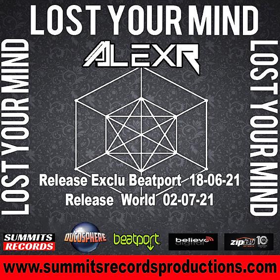 Promo Insta AlexR - Lost Your Mind  SMR