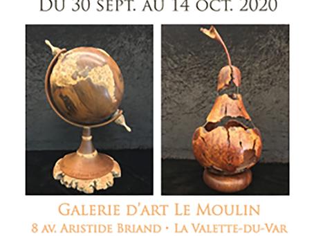 """Exposition Ludovic Bourgeois """"Dans le coeur des arbres"""""""