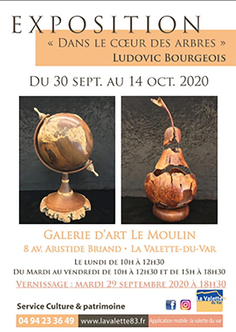 Exposition Ludovic Bourgeois