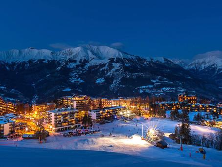 Pra-Loup station de ski des Alpes du Sud. Elle est située sur la commune d'Uvernet-Fours