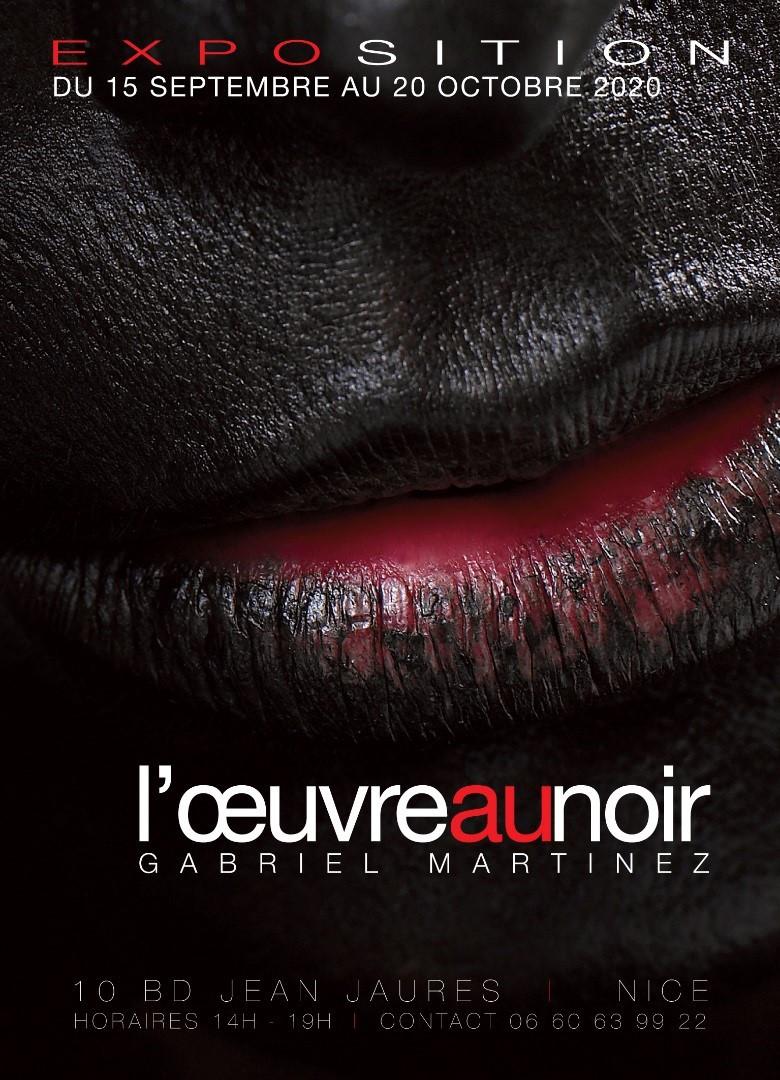 Gabriel Martinez. L'œuvre au noir