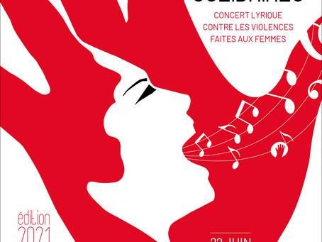 Les Voix Solidaires - Concert lyrique contre les violences faîtes aux femmes