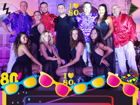 Les FlashBack Top 80's-Hyères16 Août-21h30