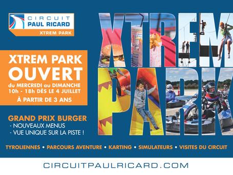 L'Xtrem Park est un parc de loisirs situé au  cœur même du Circuit Paul Ricard