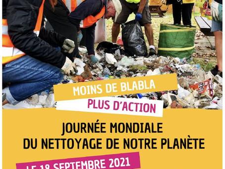 World Clean Up Day - Ville de Saint-Raphaël