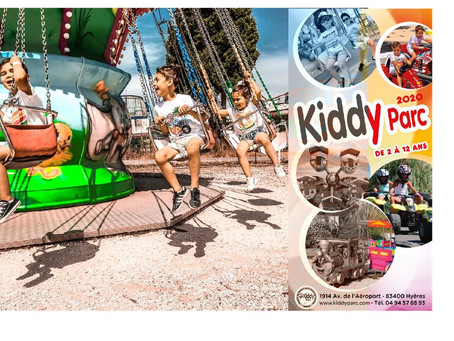 Kiddy Parc Réouverture le Samedi 04 Juillet !