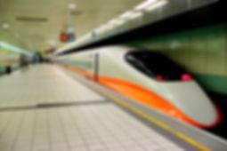 台灣高鐵-一般列車停靠於桃園站南下月台.JPG