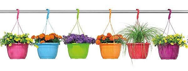 """Hanging Basket / Tub 10"""""""