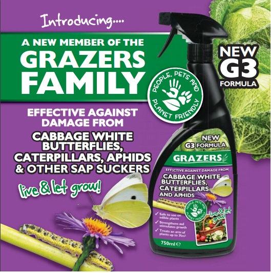 Grazers G3 Cabbage White/butterflies