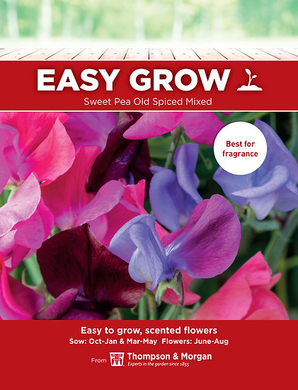 Sweet Pea Old Spiced Mixed
