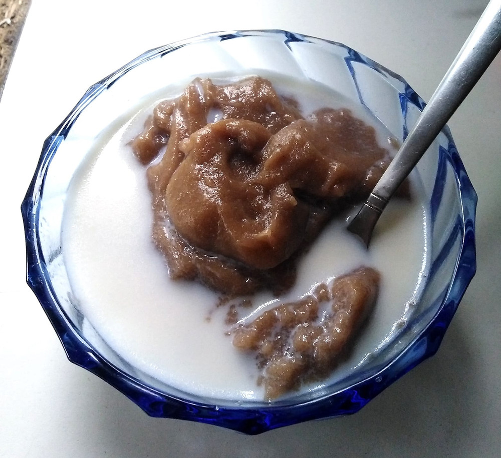 bowl of tasty (no)wheat paleo porridge