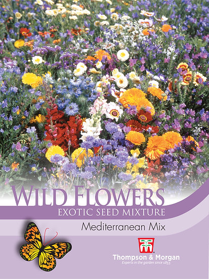 Wild Flower Mediterranean Mix