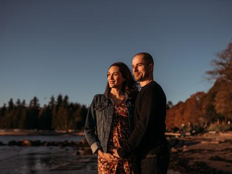 V + K | Stanley Park maternity session | Vancouver maternity photographer