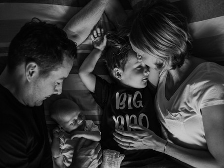 James | In home newborn lifestyle session | Vancouver newborn photographer